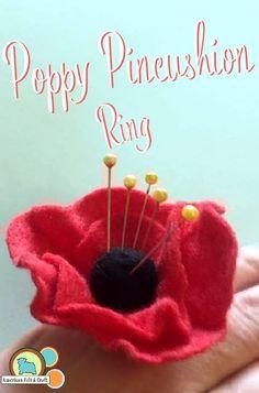 Felt Pincushion Making Kit Sew Your Own Felt Pincushion Make Your Own Hat Pincushion by Crafty Jo Designs DIY Craft Kit Dressmaker Gift