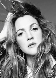 awesome US Marie Claire February 2014 | Drew Barrymore by Jan Welters  [Cover+Editorial]