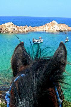 Séjour à cheval à Minorque, perle de la Méditerranée #espagne #baleares
