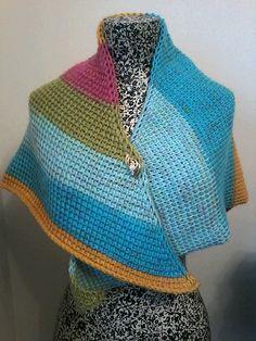 Ravelry: Easy Breezy Triangle Scarf pattern by Hayley Joanne Robinson
