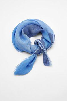 PAÑUELO LINO RAYAS | ZARA España Striped Linen, Zara, Blue Nails, Headscarves, Stripes, Blue