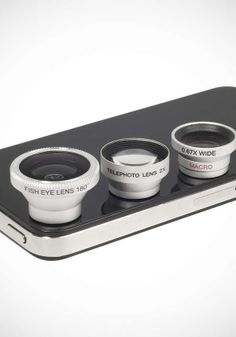 3-Piece Smartphone Camera Lens Kit: ePacific Mall | LivingSocial deal | $14