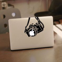 Camera Macbook Decal Pro/Air Sticker Handmade Skin Partial Protector 1169