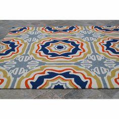 nuLOOM Handmade Indoor/ Outdoor Spanish Tiles Multi Rug | Overstock.com Shopping - Great Deals on Nuloom 7x9 - 10x14 Rugs