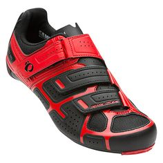Chaussures Pearl Izumi Select Road rouge noir   | deporvillage