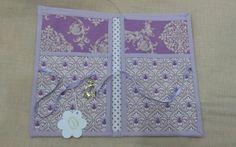 Carpeta porta-documentos en tela. #aldardeco#patchwork#handmade