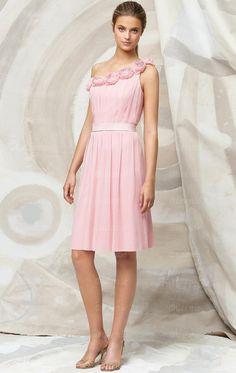 Pink cheap bridesmaid dresses