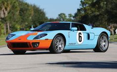 Buy This  Ford Gt Heritage And This Matching Gulf Racing Jacket