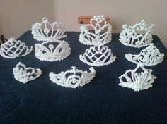 Royal Icing tiaras @raina65, One of the girls will need these on their next cake.