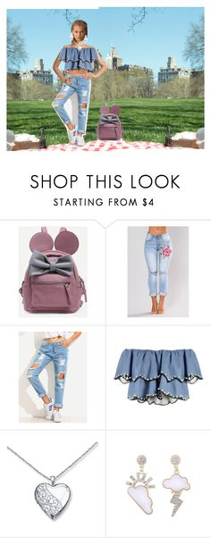 """""""Picnic day"""" by stephaniebh on Polyvore featuring moda, WithChic e HUISHAN ZHANG"""