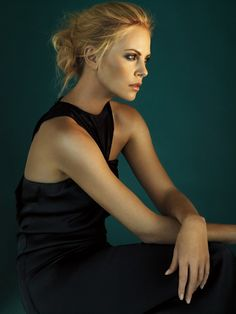 Charlize Theron by Alexi Lubomirski.