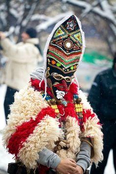 """Kukeri - Annual Kukeri Festival """"SURVA"""" - Pernik, Bulgaria"""