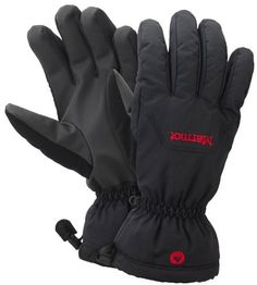 Marmot Men's On-piste Glove, Black, Medium by Marmot. $44.01. Mountainside, the On-Piste keeps you on task thanks to no-frills technology that's within budget. The glove's waterproof MemBrain insert is breathable and windproof. Thermal R insulation and 3-dimensional wicking DriClime lining provide thermal and moisture management. Wrist-tightening elastic and gauntlet drawcord shield out snow. Falcon Grip precurved fingers for improved dexterity.