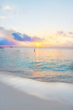Sunset on Seven Mile Beach, Grand Cayman