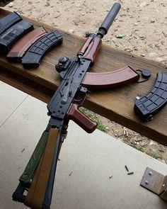 AKS-74U http://www.facebook.com/yetichaos