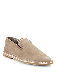 Vince Percell Suede Loafers
