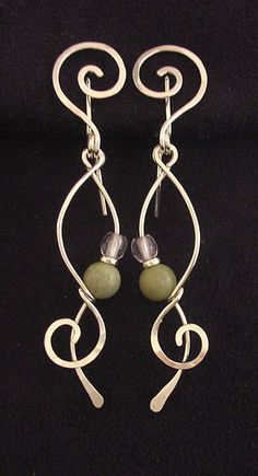 Wire wrapped earrings Repair your credit today -www.savoycredit.com #fixmycredit #creditrepair #savoycredit