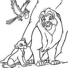 117 Best The Lion King Coloring Pages Images On Pinterest Coloring