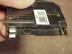 Article about installing a new circuit breaker in a sub-panel or main breaker box. Electrical Switch Wiring, Electrical Tester, Electrical Code, Breaker Box, Three Way Switch, House Wiring, Live Wire, Backyard Pergola, Home Repair