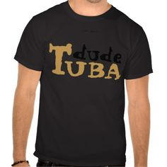 TUBA dude   * Promote Lykens-Luzesky T-shirts for CASH!