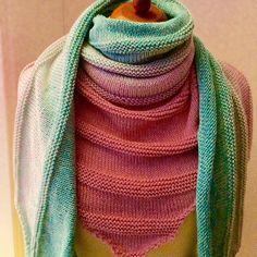 Kaskade, #100Farbspiele #Nesthäkchen #knitting #stricken #Wolle #Farbverlauf