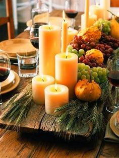 Center Of Attention: Beautiful Thanksgiving Tablescapes