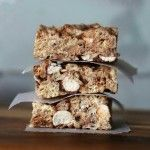Malted Milk Ball Krispie Treats | Cookies & Cups