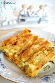 Crunchy pies with zucchini Pastry Recipes, Dessert Recipes, Desserts, Turkish Recipes, Ethnic Recipes, Recipe Mix, Iftar, Vegetable Recipes, Food Pictures