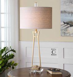 Uttermost Leonidas Gold Table Lamp