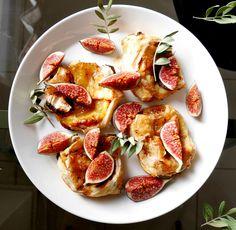 Super easy but still delicious fig chevre pastries
