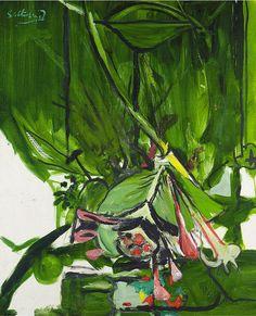 thunderstruck9:  Graham Sutherland (British, 1903-1980), Honeysuckle. Oil on canvas, 31 x 25 in.
