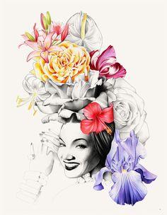 Ricardo Fumanal — Carmen Miranda as the basis of a fashion manifiesto for the new decade hercules magazine Spring/Summer 2010