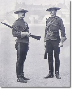 Turn of the century RCMP officers holding Winchester 1895 Saddle Ring Carbines in caliber. I Am Canadian, Canadian History, Sirens, Meanwhile In Canada, National Police, Police Uniforms, O Canada, Le Far West, British Army