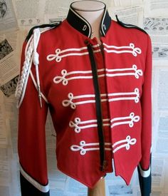 """Vintage Marching Band Jacket by thedepo on Etsy"""" Diesel Punk, Military Style Jackets, Military Jacket, Dandy, Marching Band Uniforms, Marching Bands, Toy Soldier Costume, Pinup, Band Jacket"""