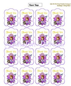 Sofia The First Free Party Printables | Party Ideas By Seshalyn