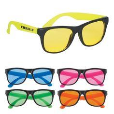 #4001 Black Frame Tinted Lenses Sunglasses