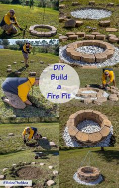 "Check out our site for more info on ""fire pit diy"". It is an outstanding spot for more information. Informations About Check out our site for more info on ""fire pit diy"". It is an outstanding spot fo. Fire Pit With Rocks, Fire Pit Bbq, How To Build A Fire Pit, Easy Fire Pit, Small Fire Pit, Modern Fire Pit, Garden Fire Pit, Fire Pit Area, Fire Pit Backyard"
