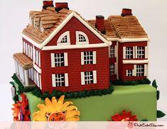 Farm house cake... it's CAKE!!!  Wow!