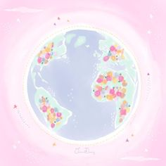 Happy Earth, Earth Day, Pastels, Pattern Design, Outdoor Decor, Instagram, Home Decor, Decoration Home, Room Decor