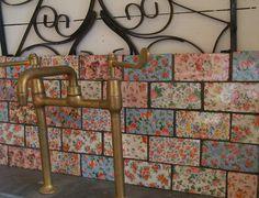 Patchwork Brick Tiles. By Welbeck.