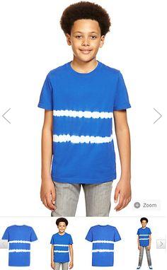 Pure cotton tie dye stripped t-shirt