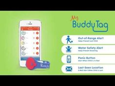 Child Safety and Locating Device | MyBuddyTag - warns you when your loved one walks out of your range (child, elderly adult, or adult with a disability)