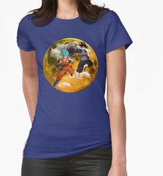 """Goku Vs Black Goku"" Womens Fitted T-Shirts by luisgarcia10   Redbubble"