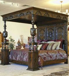 Four Post King Size Bedroom Set. Four Post King Size Bedroom Set. Romantic Four Post Canopy Bed From Ralph Lauren Home Wood Signs Home Decor, Beautiful Furniture, Bedroom Decor, Bedroom Set, Home, Bedroom Sets, Home Bedroom, Home Decor, Luxurious Bedrooms