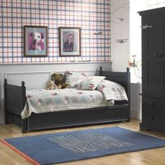 Fargo single bed with trundle bed - Painswick Blue, Little Folks Furniture Single Beds With Storage, Kids Beds With Storage, Bed Storage, Childrens Single Beds, Kids Single Beds, Bunk Bed With Trundle, Sleepover Beds, Trundle Mattress