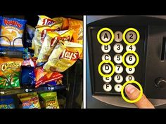 FREE HACK TO GET CHIPS FROM ANY VENDING MACHINE! (HOW TO GET FREE STUFF) - YouTube