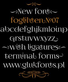 Оригинальные бесплатные шрифты
