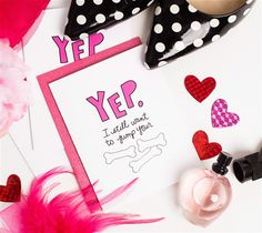 Jump Your Bones Anniversary Card by Idieh Design. Make It Now with the Cricut Explore machine in Cricut Design Space.