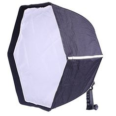 Neewer Professional Collapsible Hexagonal Softbox 20'/50 cm Folding Softbox Diffuser with Handle Grip for Speedlights, Black
