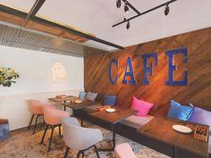渋谷区千駄ヶ谷のカフェ グッドモーニングカフェのインテリア